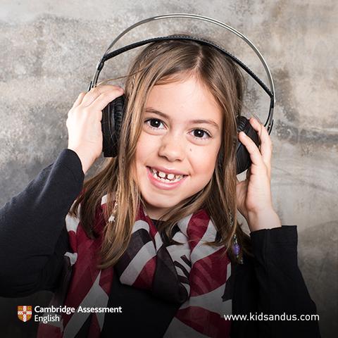 Cambridge english souligne que les élèves de kids&us brillent dans les compétences de listening
