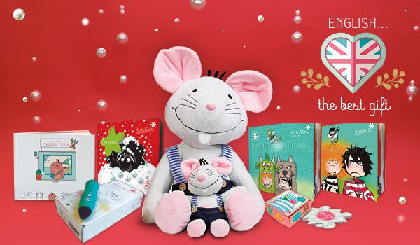 Idées de cadeaux de Noël 2020 pour apprendre l'anglais en fonction de l'âge de l'enfant